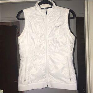 Nike White Golf Vest